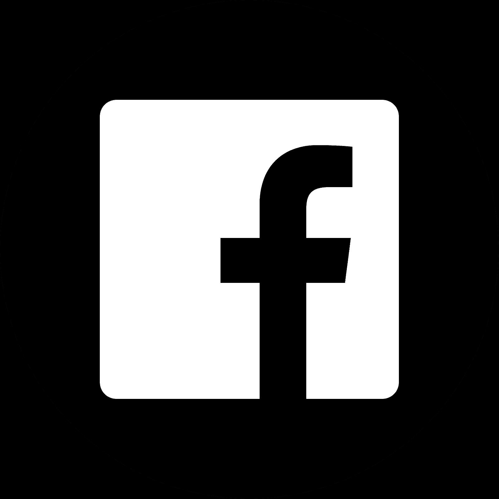 logo facebook blanco